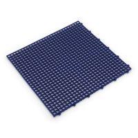Modrá plastová terasová dlaždice Linea Flextile - 39,5 x 39,5 x 0,8 cm