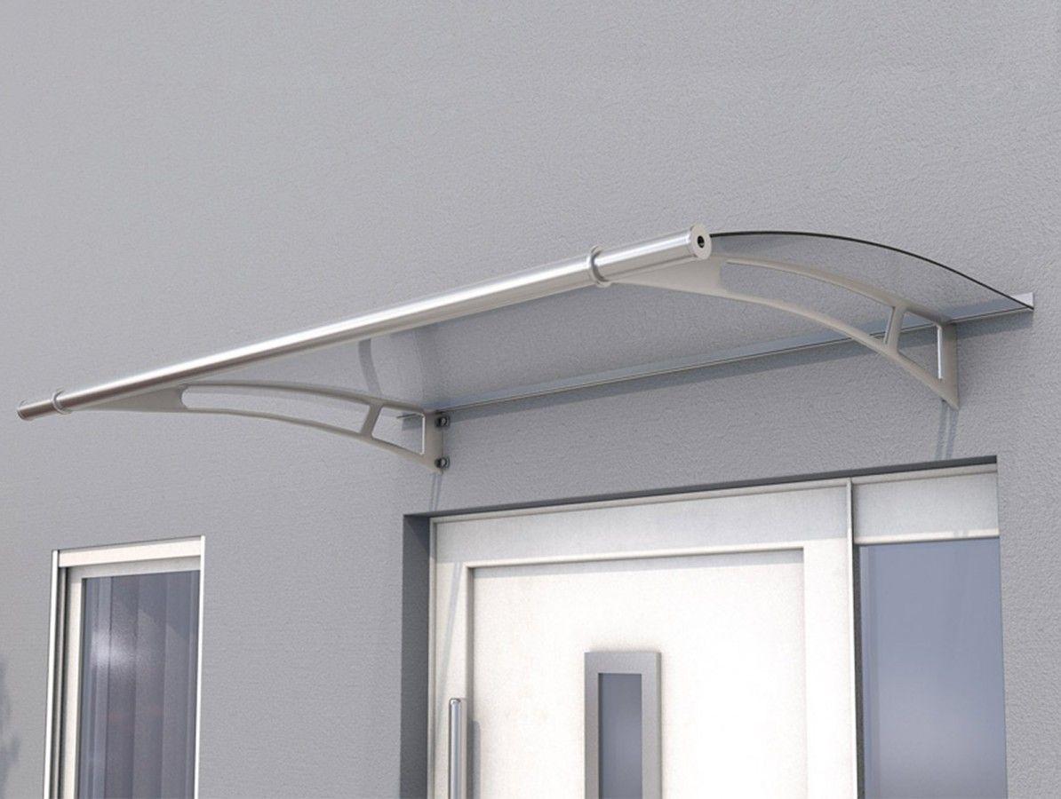 Vchodová stříška Guttavordach PT/L 150 x 95 cm nerez čirý polykarbonát