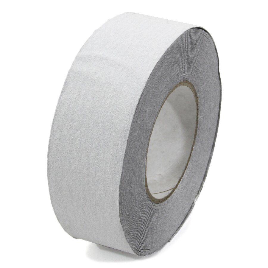 Bílá korundová podlahová páska - délka 18,3 m, šířka 5 cm a tloušťka 1,1 mm