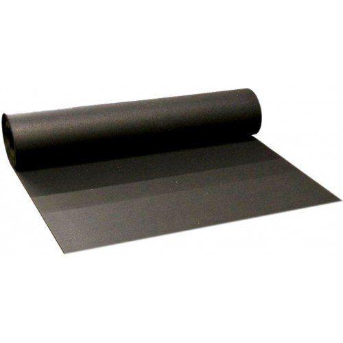Černá pryžová EPDM deska FLOMA - délka 10 m, šířka 100 cm a výška 0,3 cm