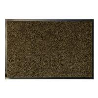 Hnědá textilní vnitřní vstupní čistící antibakteriální rohož - 180 x 120 x 0,9 cm