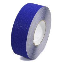Modrá korundová podlahová páska - délka 18,3 m, šířka 5 cm a tloušťka 0,7 mm