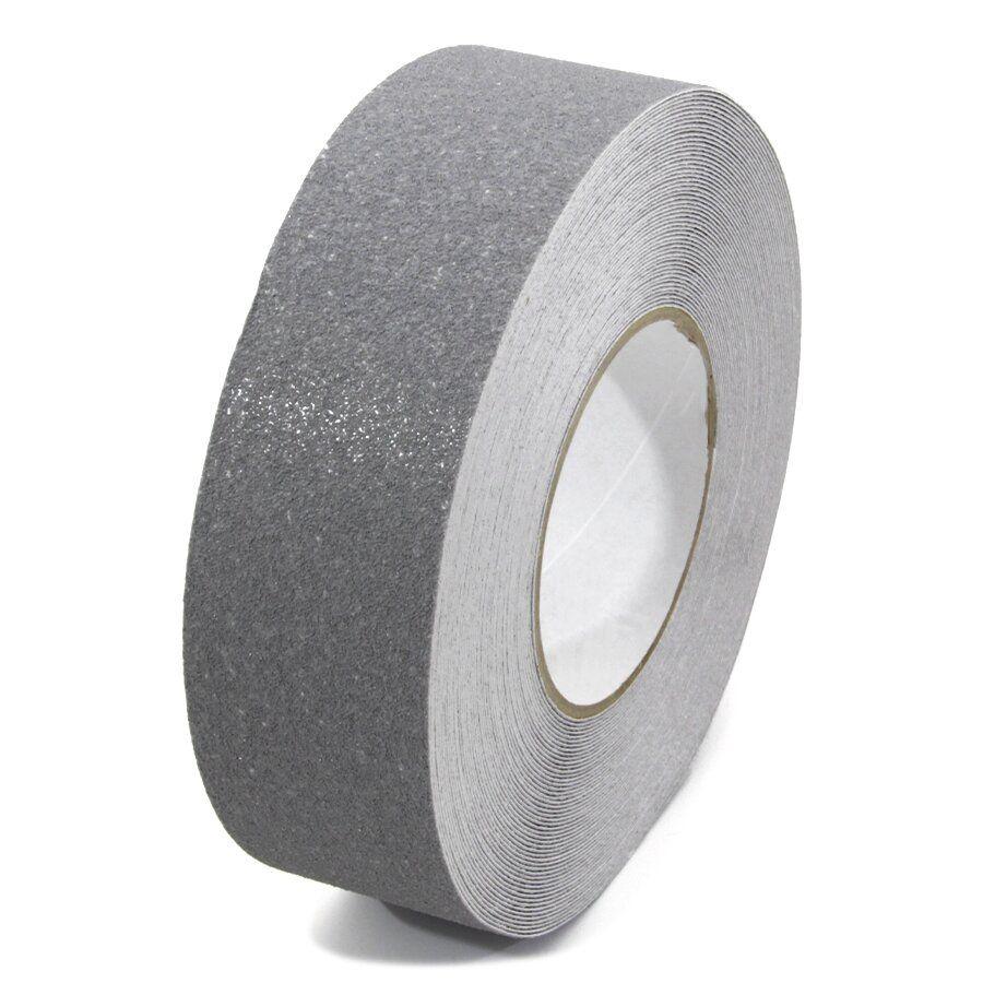 Šedá korundová podlahová páska - délka 18,3 m, šířka 5 cm a tloušťka 0,7 mm