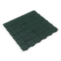Zelená plastová děrovaná terasová dlaždice Linea Marte - 56,3 x 56,3 x 1,3 cm