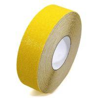 Žlutá korundová podlahová páska Super - 18,3 m x 5 cm