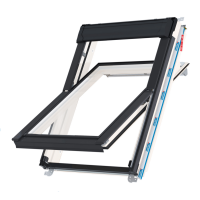Střešní okno KEYLITE WCP T03 kyvné 66x118 cm dřevo bílá barva 2-sklo Thermal