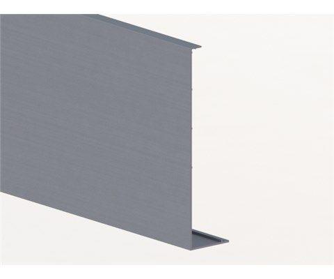 Krycí lišta pro profil Y-ELOX AL, boční kotvení délka 5000mm