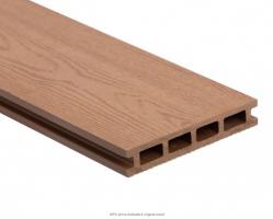 Dřevoplastová deska - světlé dřevo  140x25x2900mm