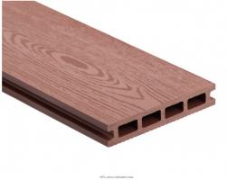 Dřevoplastová deska - teak  140x25x4000mm