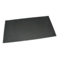 Černá gumová čistící venkovní vstupní rohož Octomat Mini - 100 x 50 x 1,25 cm