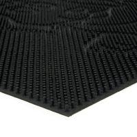 Gumová čistící venkovní vstupní rohož Dog, FLOMAT - délka 40 cm, šířka 60 cm a výška 0,8 cm