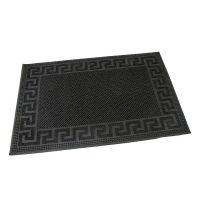 Gumová vstupní kartáčová rohož Pins - Deco - 60 x 40 x 0,8 cm