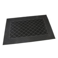 Gumová vstupní kartáčová rohož Squares - Rectangle - 60 x 40 x 0,7 cm