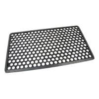 Gumová vstupní rohož Hexagon - 70 x 40 x 1,2 cm
