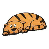 Kokosová vstupní rohož Cute Cat - 75 x 45 x 1,7 cm