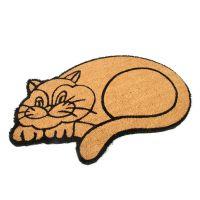 Kokosová vstupní rohož Happy Cat - 75 x 45 x 1,7 cm