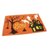 Kokosová vstupní rohož Scary House - 75 x 45 x 1,7 cm