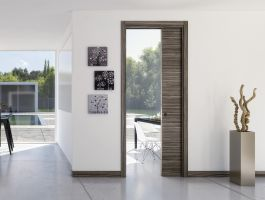 Jednokřídlé stavební pouzdro Ermetika Evolution do zdiva - 1970 x 800 / 125 mm