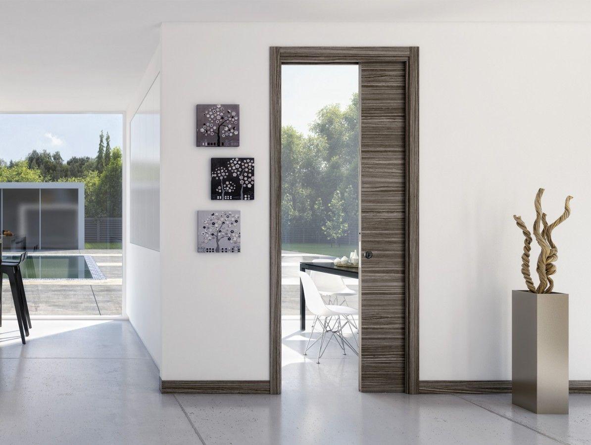 Jednokřídlé stavební pouzdro Ermetika Evolution do zdiva -1970 x 800 / 125 mm