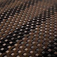"""Černo-hnědá plastová ratanová metrážová stínící rohož """"umělý ratan"""" - výška 100 cm"""