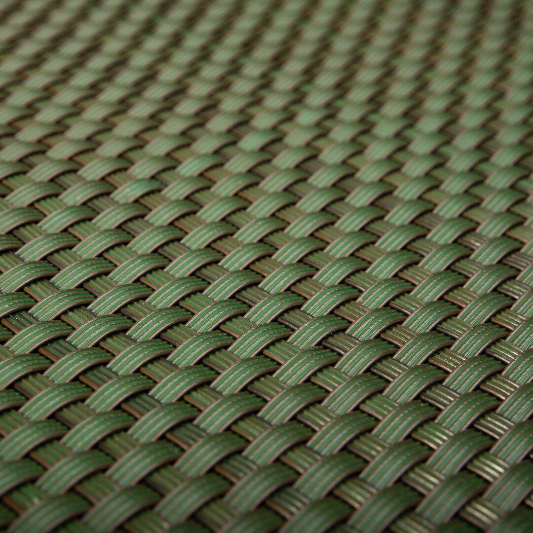 """Zelená plastová ratanová metrážová stínící rohož """"umělý ratan"""" - výška 100 cm"""