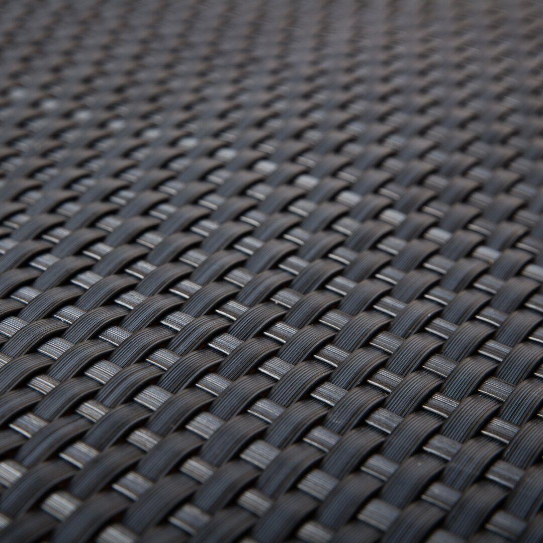"""Šedá plastová ratanová stínící rohož """"umělý ratan"""" - délka 500 cm a výška 90 cm"""