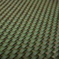 """Zelená plastová ratanová metrážová stínící rohož """"umělý ratan"""" - výška 200 cm"""