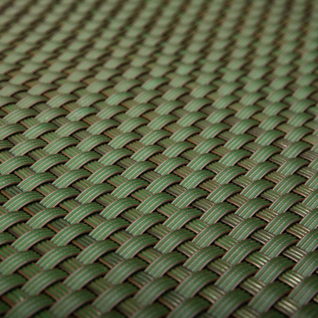 """Zelená plastová ratanová stínící rohož """"umělý ratan"""" - délka 300 cm a výška 90 cm"""