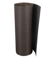 """Hnědá plastová ratanová stínící rohož """"umělý ratan"""" - délka 300 cm a výška 75 cm"""