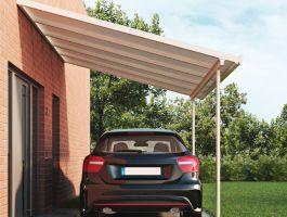 Prodloužení k hliníkové pergole Terrassendach Original - 1,2 x 3,06 m - bílá