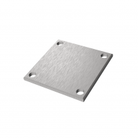 Kotvení vrchní - příruba čtyřhr. AISI304, 92x92/t6