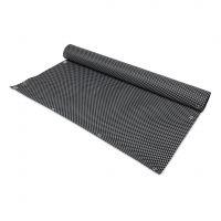 """Černo-šedá plastová ratanová metrážová stínící rohož """"umělý ratan"""" - výška 90 cm"""