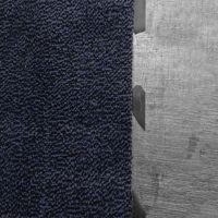 Modrá vnitřní vstupní čistící rohož Mars - 120 x 180 cm