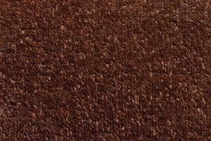 Hnědý kobercový půlkruhový nášlap na schody Parma - délka 65 cm a šířka 25 cm