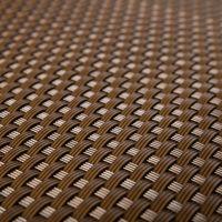 """Plastová ratanová stínící rohož """"umělý ratan"""" s oky (tmavý ořech) - délka 500 cm a výška 90 cm"""