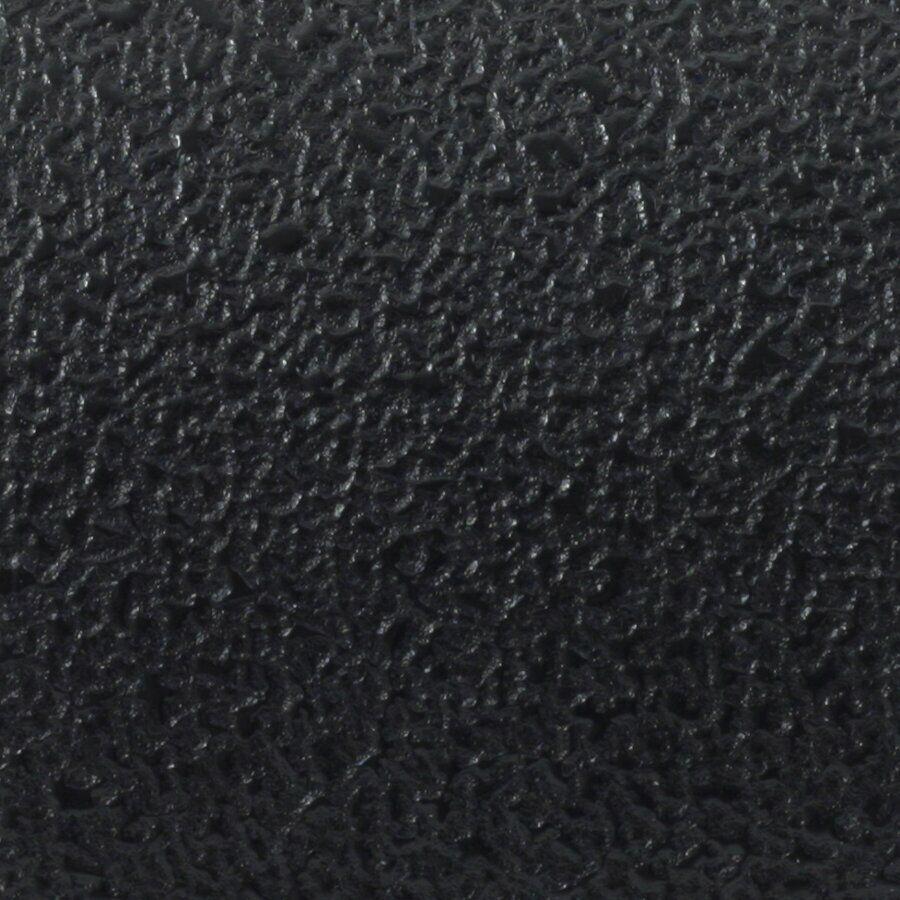 Černá plastová voděodolná protiskluzová páska (pás) FLOMA Aqua-Safe - délka 15 cm, šířka 61 cm a tloušťka 0,7 mm