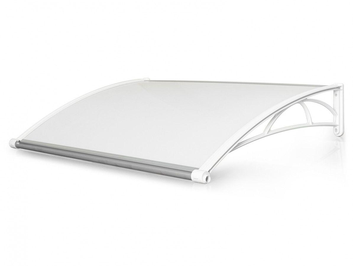Vchodová stříška Valtellina 150 x 82 cm bílá / opál