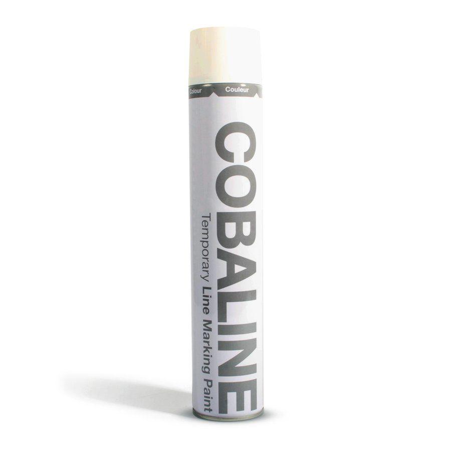 Bílá aerosolová rychleschnoucí krátkodobá barva - objem 750 ml FLOMAT