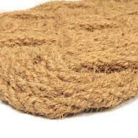 Kokosová vstupní venkovní čistící rohož Jumbo Rectangle, FLOMAT - délka 45 cm, šířka 75 cm a výška 3,5 cm