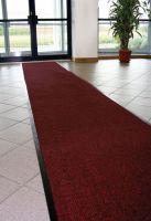 Modrá textilní čistící vnitřní vstupní rohož - délka 90 cm, šířka 120 cm a výška 0,7 cm FLOMAT