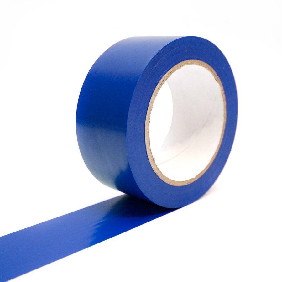 Modrá podlahová vyznačovací páska - délka 33 m a šířka 5 cm FLOMAT
