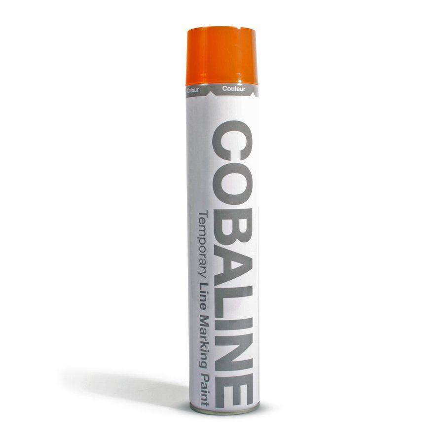 Oranžová aerosolová rychleschnoucí krátkodobá barva - objem 750 ml FLOMAT
