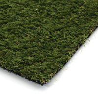 Zelená rohož s umělým trávníkem FLOMA Pesaro - délka 80 cm, šířka 50 cm a výška 2 cm