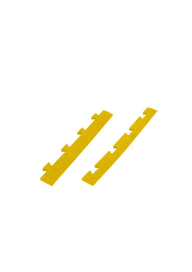 """Žlutý plastový nájezd """"samec"""" Tenax - délka 48 cm, šířka 7 cm a výška 0,8 cm"""
