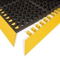 Černá gumová náběhová hrana COBA Deluxe - 156,5 x 5 x 1,9 cm