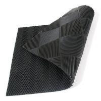 Gumová oboustranná vstupní rohož Double Side - 75 x 45 x 1 cm