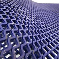 Modrá protiskluzová univerzální rohož - délka 9 m, šířka 100 cm a výška 0,85 cm FLOMAT