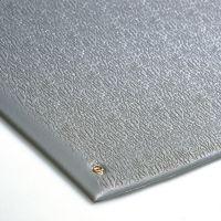 Šedá antistatická ESD protiúnavová průmyslová rohož - 18,3 m x 90 cm x 0,9 cm