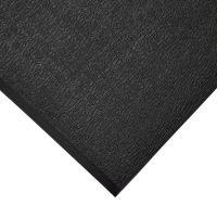 Černá gumová protiskluzová protiúnavová průmyslová rohož - 18,3 m x 90 cm x 0,9 cm