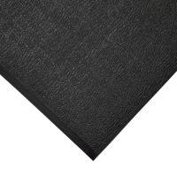 Černá gumová protiskluzová protiúnavová průmyslová rohož - 36,5 m x 90 cm x 0,6 cm